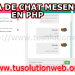 free chat php script download